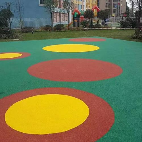 弹性球场地坪